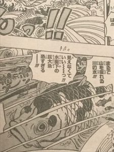ワンピース第910話ネタバレ麦わらの一味ワノ国