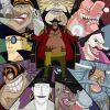 黒ひげ海賊団のメンバーの強さ考察|10人の巨漢船長について