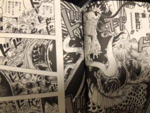 ワンピース92巻ネタバレ内容感想カイドウビッグマムステルスブラックサンジ