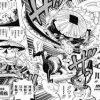【ONEPIECE976話ネタバレ感想】カン十郎の墨雲!怒りの河松!ジンベエ合流! モモの助は鬼ヶ島へ