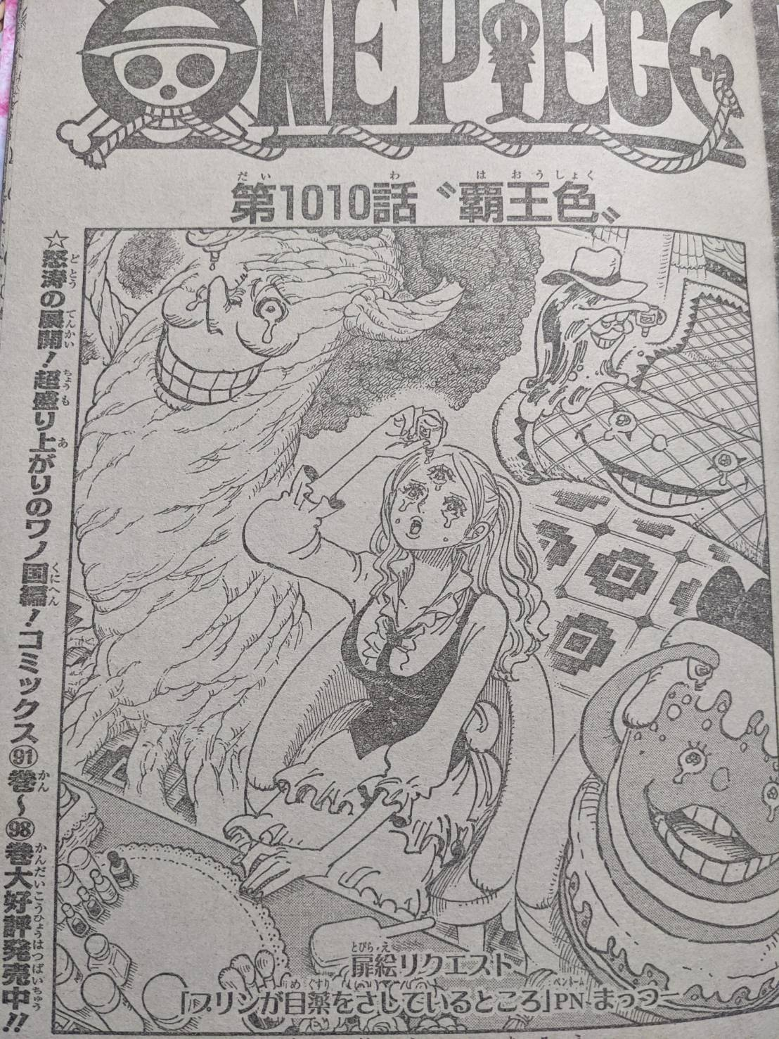 ワンピース1010話ネタバレ